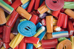 Candy Colorful Jello Junk Kid Party Concept. Sweet Candy Colorful Jello Junk Kid Party Stock Photography