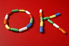 candy colorful letter shapes sweets Стоковые Фото