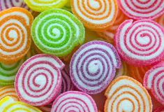 Candy colors Stock Images