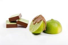Candy con i frutti immagine stock libera da diritti