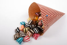 Candy in a Cone Stock Images