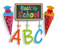 Candy Cone Back To School Royalty Free Stock Images