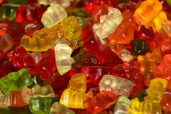 Candy, Confectionery, Gummy Bear, Jelly Babies Royalty Free Stock Images
