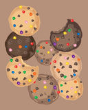 Candy cookies Royalty Free Stock Photo