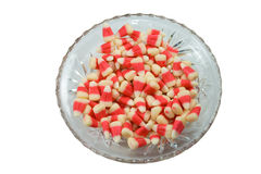 Candy corn. stock photo
