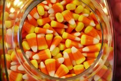 Candy Corn. In a candy shop Stock Photography