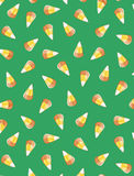 Candy corn background. Background filled with Halloween candy corn Royalty Free Stock Images