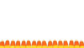Candy Corn Boarder Royalty Free Stock Images