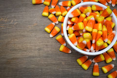 Candy Corn Border Royalty Free Stock Photos