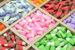 Candy corn box Royalty Free Stock Photo