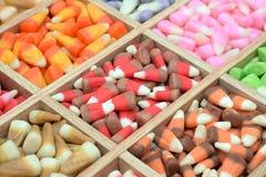 Candy corn box Royalty Free Stock Photos