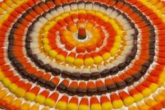 Candy Corn Circles Royalty Free Stock Image