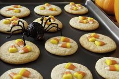 Candy Corn Cookies Royalty Free Stock Images