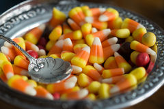 Candy Corn display Royalty Free Stock Image