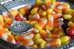Candy Corn display Royalty Free Stock Photos