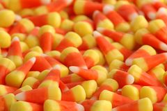 Candy Corn Explosion! royalty free stock image