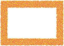 Candy Corn Frame royalty free illustration