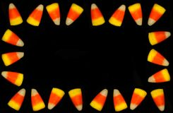 Candy Corn Frame Royalty Free Stock Photography