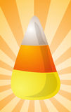 Candy corn illustration Stock Photo