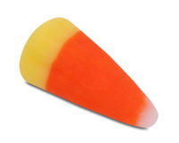 Candy corn, outlined Stock Photography