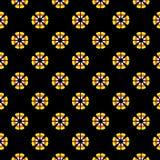 Candy Corn Pattern Stock Image