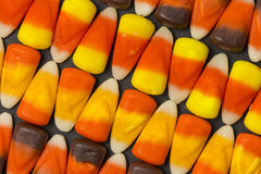 Candy Corn Pattern Royalty Free Stock Photography
