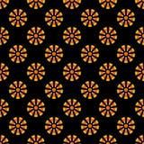 Candy Corn Seamless Pattern stock illustration