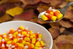 Candy Corn Snack Royalty Free Stock Image