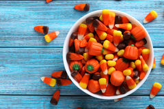 candy corns Royalty Free Stock Image