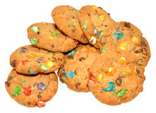Candy Covered Cookies Royalty Free Stock Photo