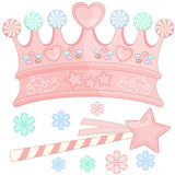 Candy Crown Stock Photo
