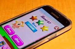 Candy crusha saga Stock Photos