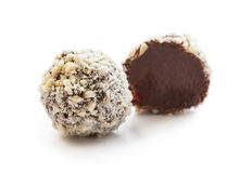 Candy with crushed almonds Stock Image