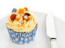 Candy Cupcake Stock Photography