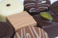 candy czekoladki zestaw Obraz Stock