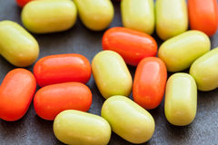 Candy on dark background. Royalty Free Stock Photos