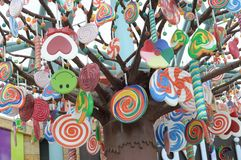 Candy Decorations Royalty Free Stock Photo