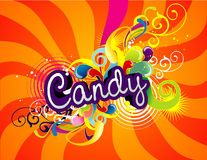 Candy design Stock Photography