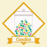 Candy design Royalty Free Stock Photos
