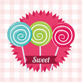 Candy design Stock Images