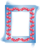 Candy design frame photo Stock Photography