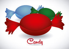 Candy design Royalty Free Stock Photo