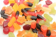 Mixure of candy Royalty Free Stock Photo