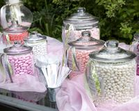 Candy display Stock Photos