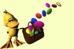 candy duck ilustracji