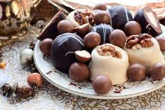 Candy e cioccolato Immagini Stock Libere da Diritti
