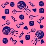 Candy e dolci royalty illustrazione gratis