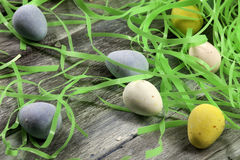 Candy Easter Eggs Royalty Free Stock Images