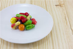 Candy. Eat,color,food,fruity Royalty Free Stock Images
