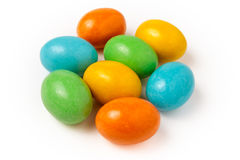 Candy eggs Stock Photo